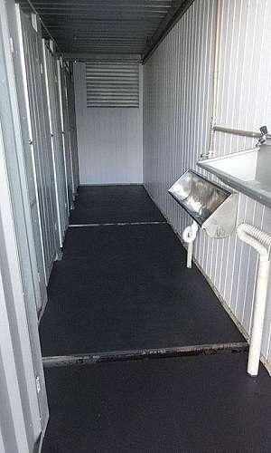 Aluguel de container para vestiário