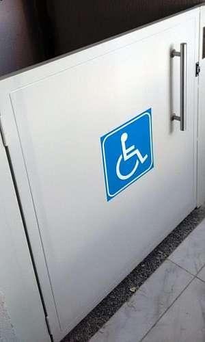 Elevador para acessibilidade