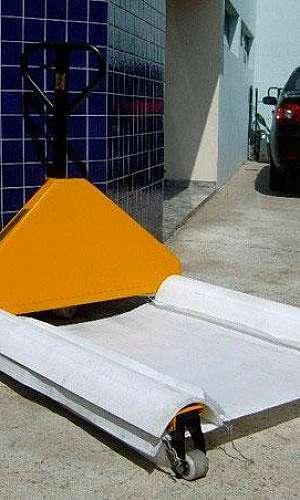 Pallet de plástico vazado
