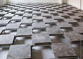 Piso elevado aço carbono