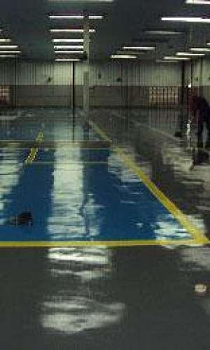 Revestimento de piso epóxi